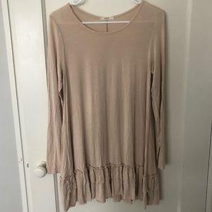Long Sleeve Tunic Style Shirt